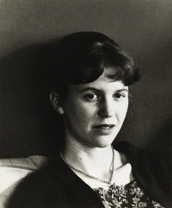 NPG P1679; Sylvia Plath by Rollie McKenna