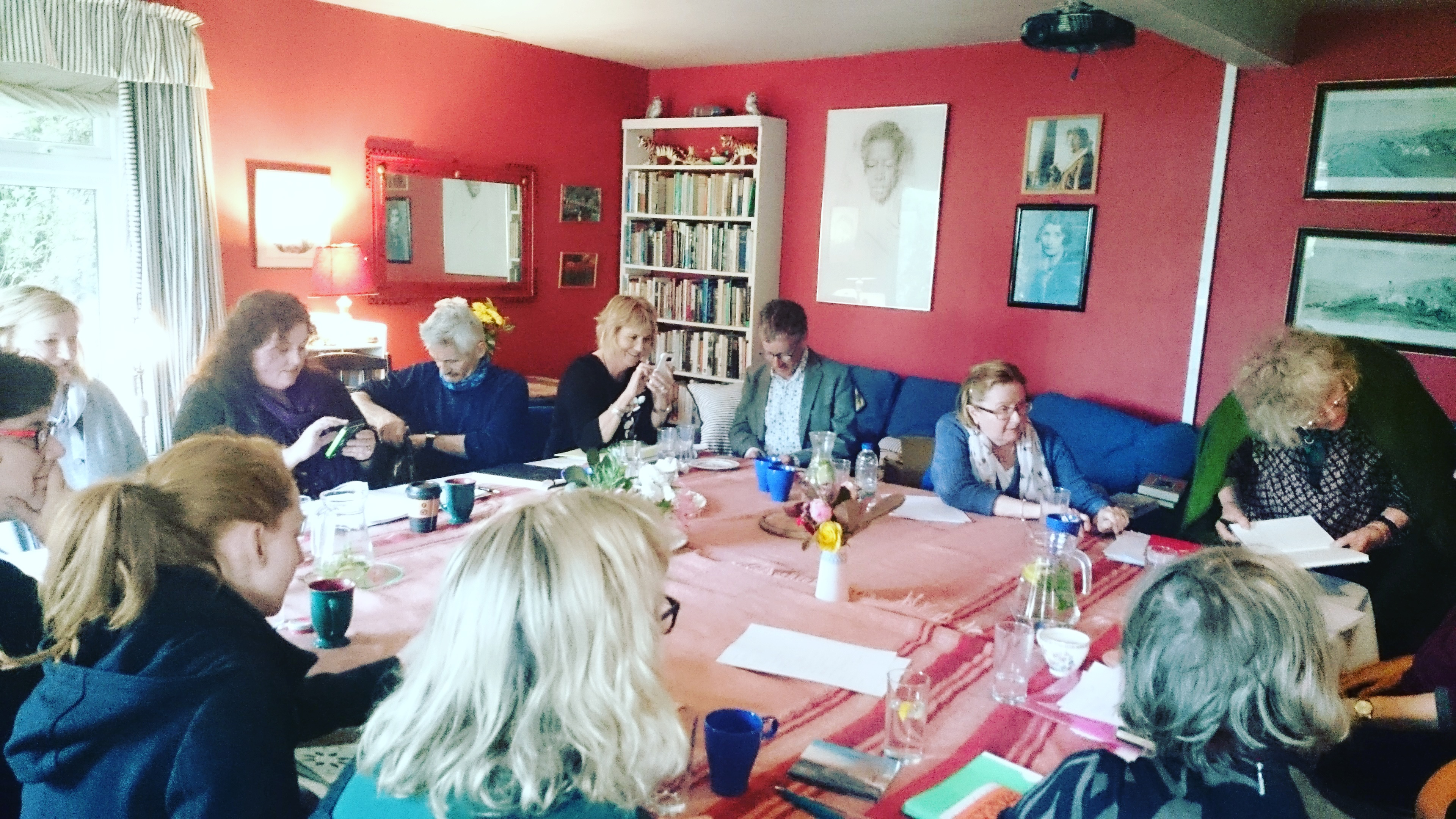 Workshop at the Molly Keane Writers' Retreat