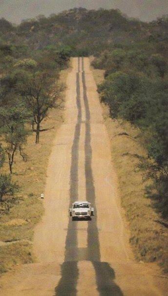 Zimbabwe strip road